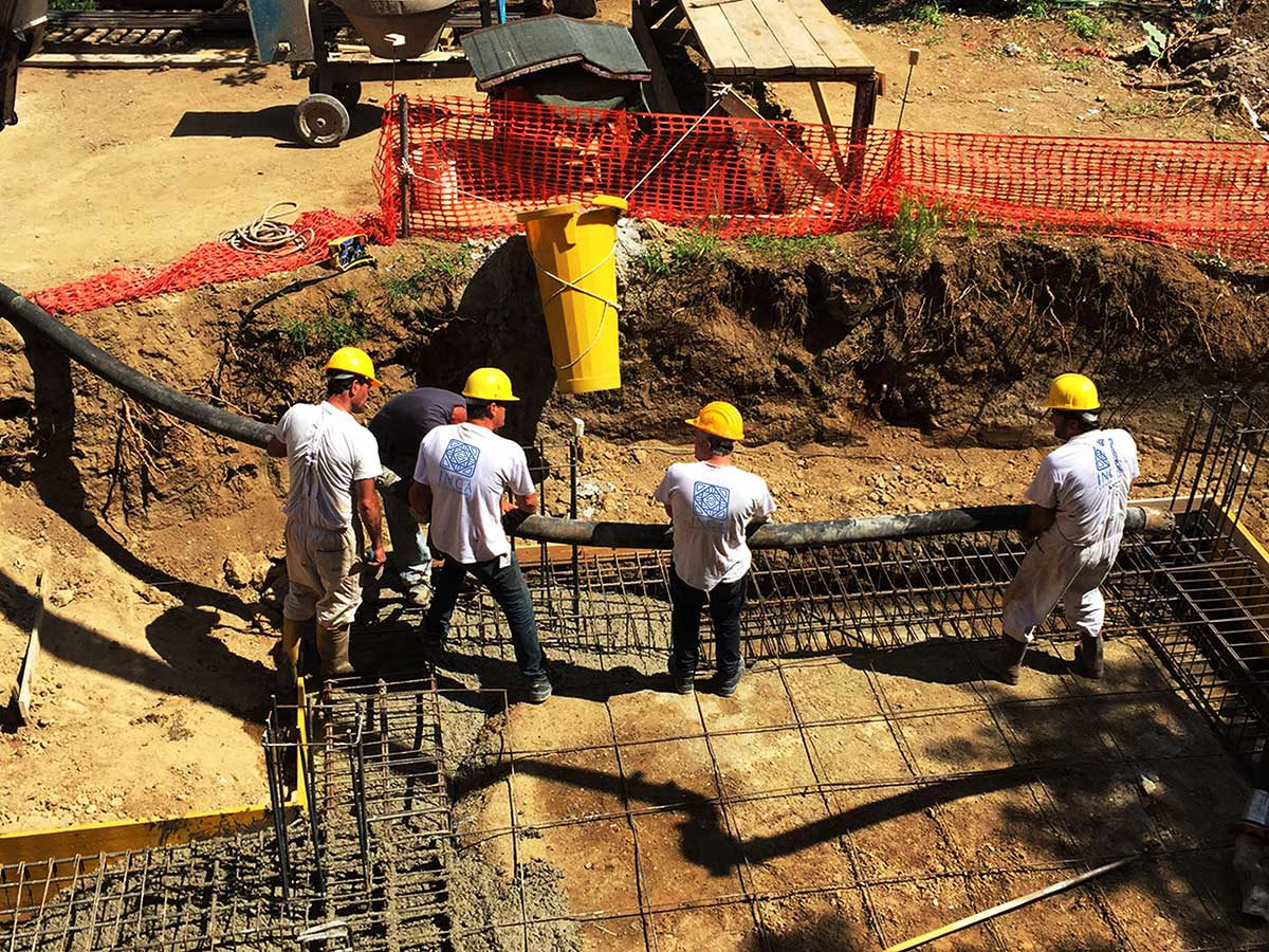 cantiere a roma